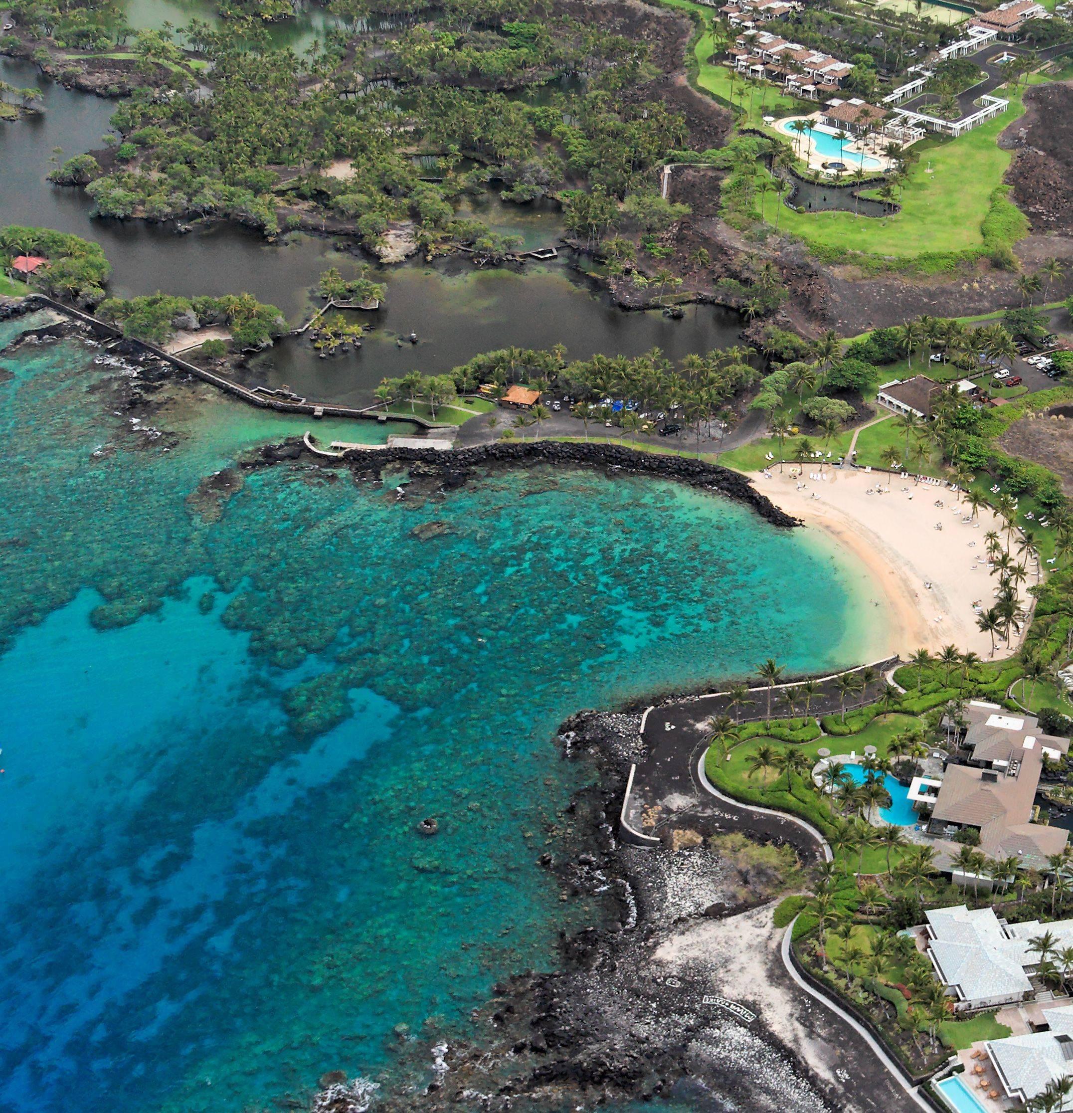 Mauna Lani Terrace Beach