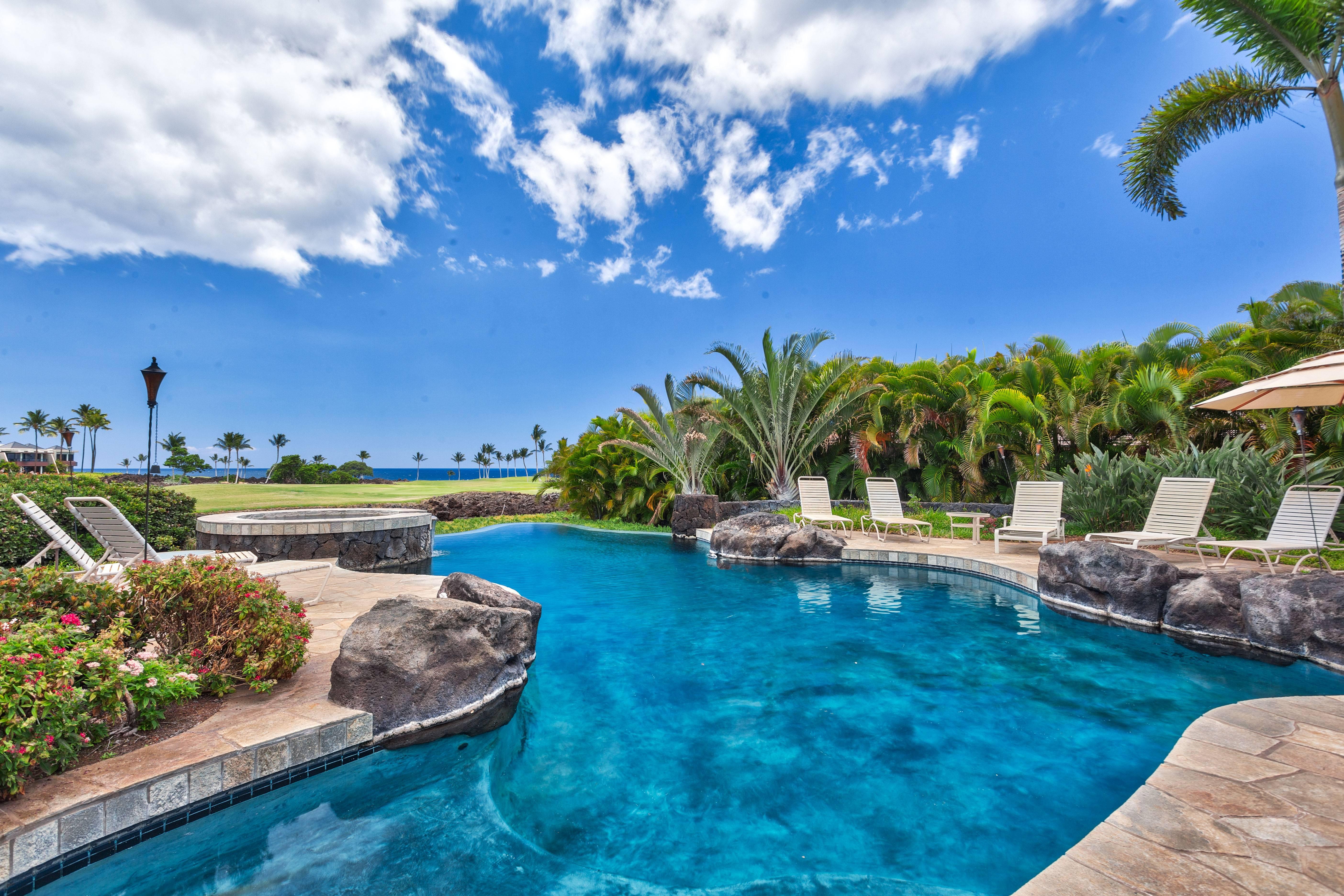 Cape at Mauna Lani private pool