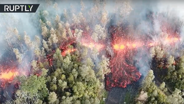 Kilauea Eruption Leilani Estates