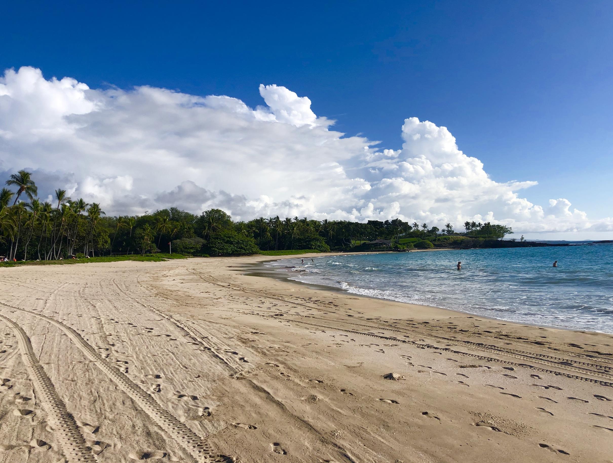 Mauna Kea Beach empty