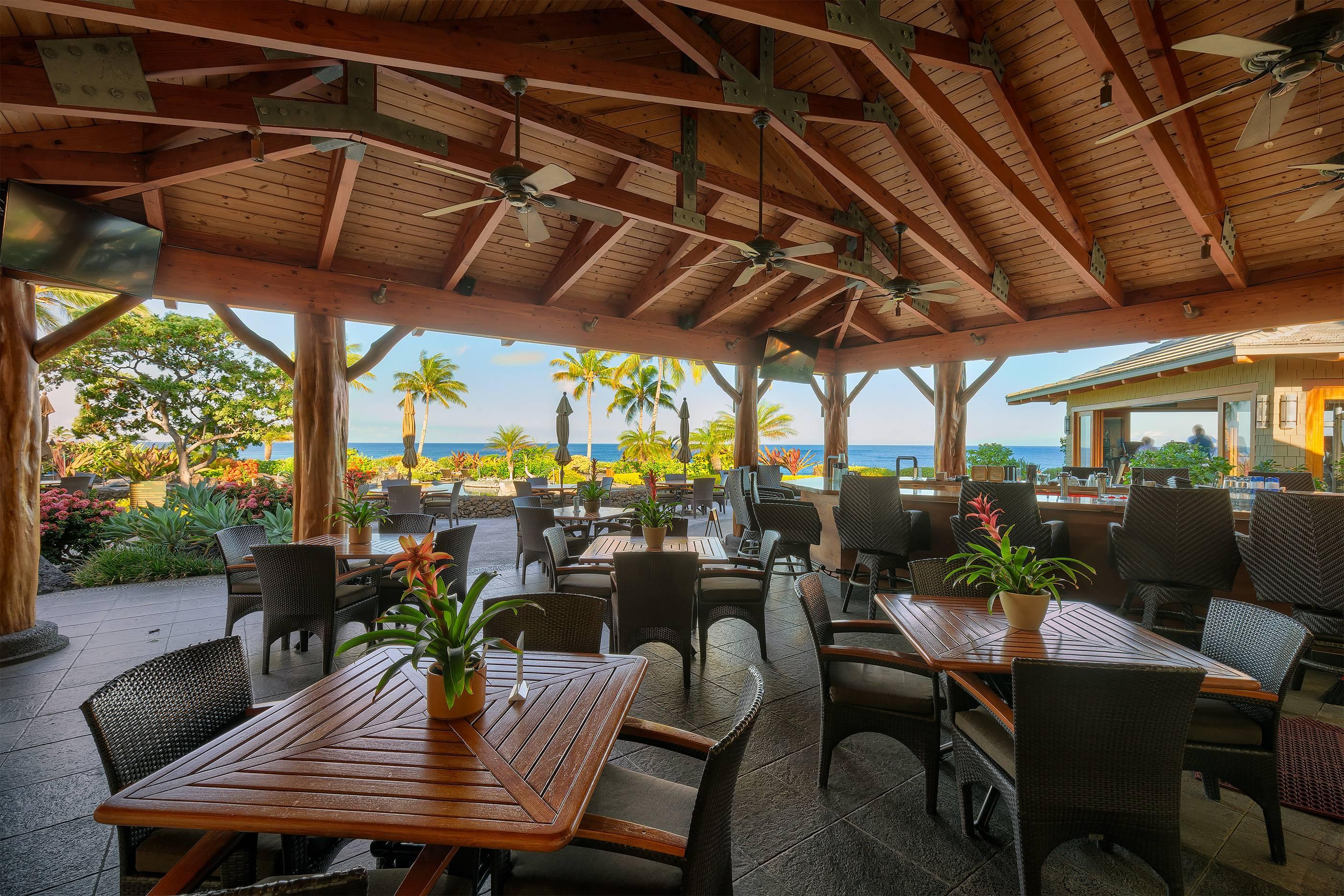Halii Kai Restaurant at Waikoloa Beach Resort