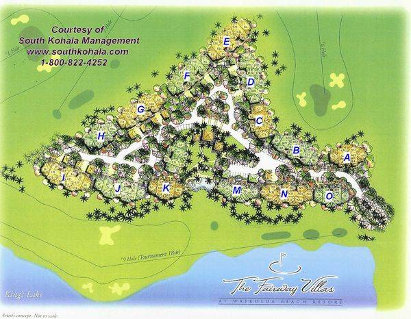 Fairway Villas At Waikoloa Check In Directions Maps South Kohala
