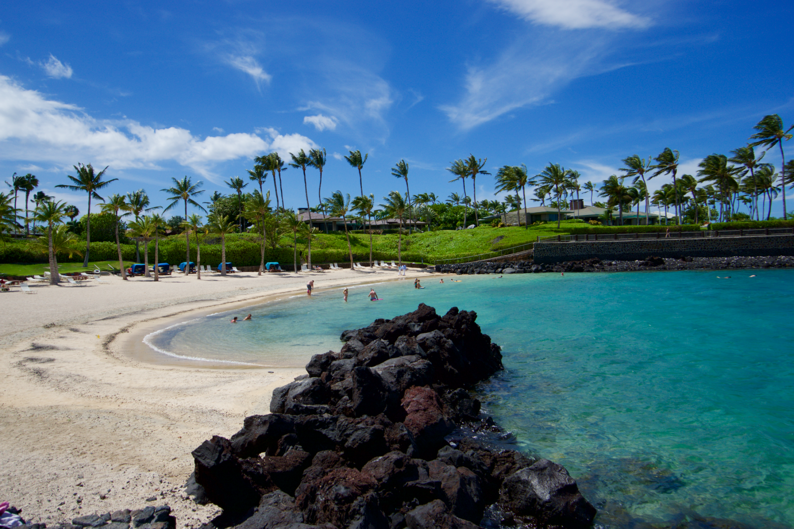 Mauna Lani Beach Club Is Great For Families With Children Facilities Showers Bathrooms