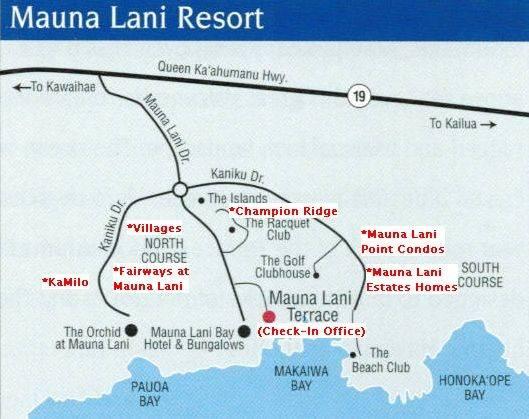Kohala Coast Hawaii Map.Kamilo At Mauna Lani Check In Directions Maps South Kohala