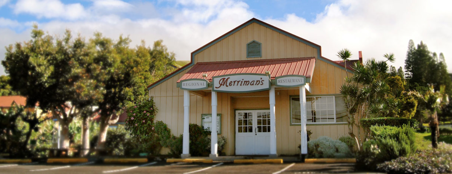 Five must see restaurants on the big island for Merriman s fish house