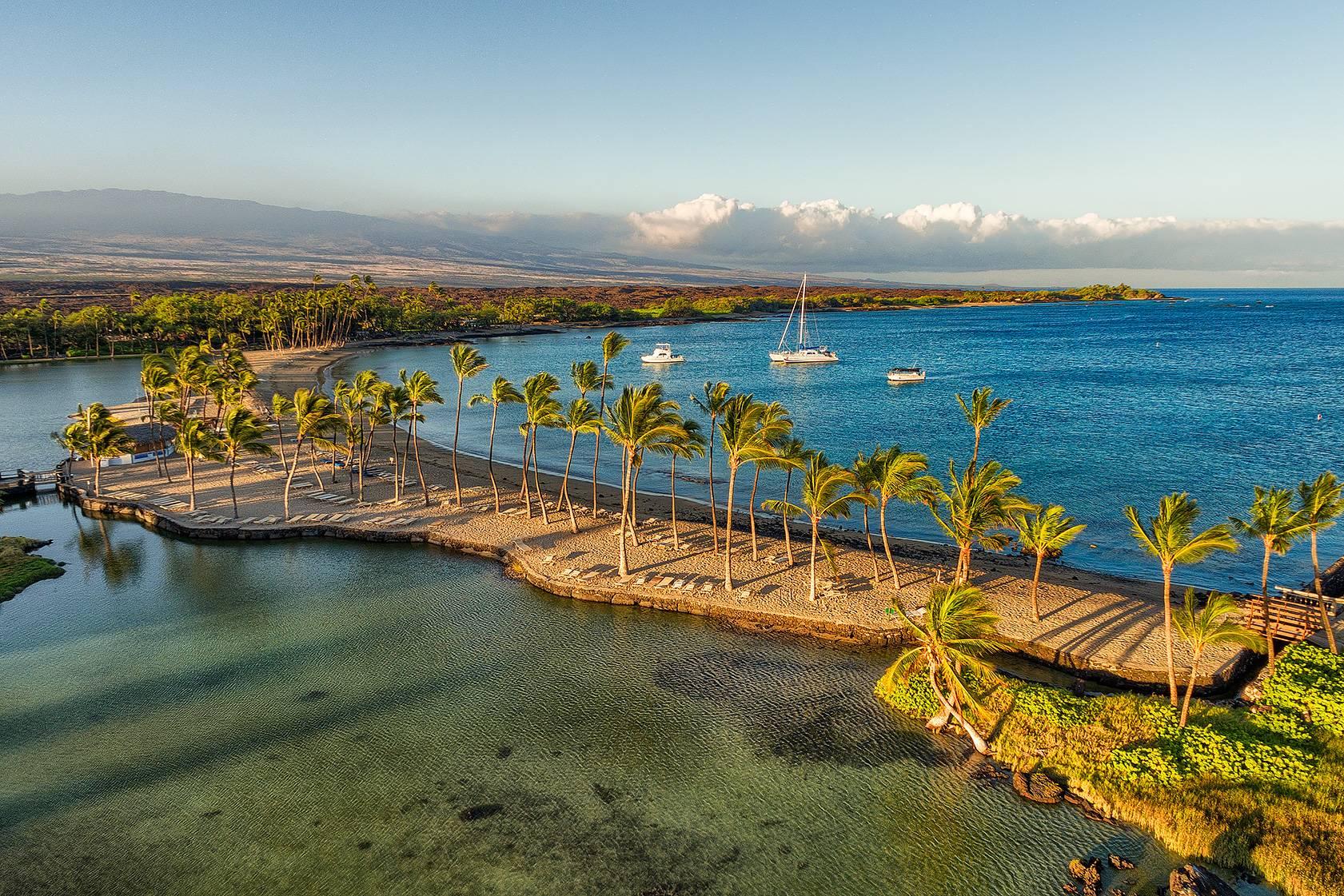 Anaeho'omalu Bay at Waikoloa Beach Resort
