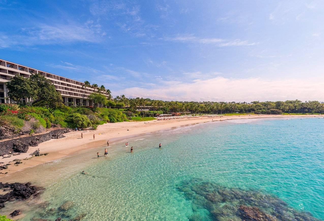 Mauna Kea Beach, one of the best beaches on the Big Island