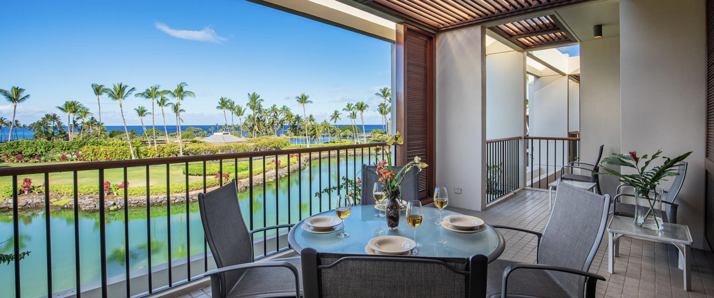 Mauna Lani terrace at the Mauna Lani resort