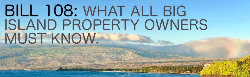 Hawaii County Bill 108