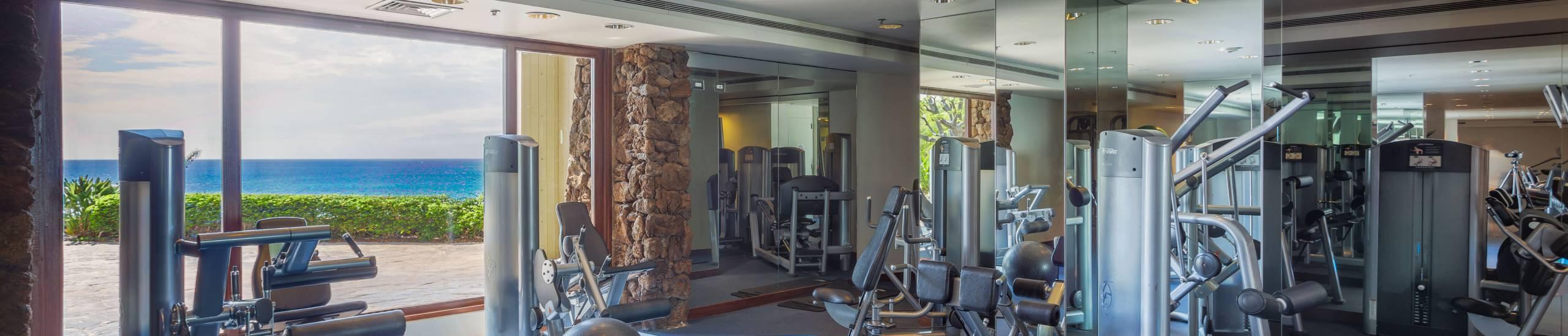 Mauna Kea Resort Fitness Facility