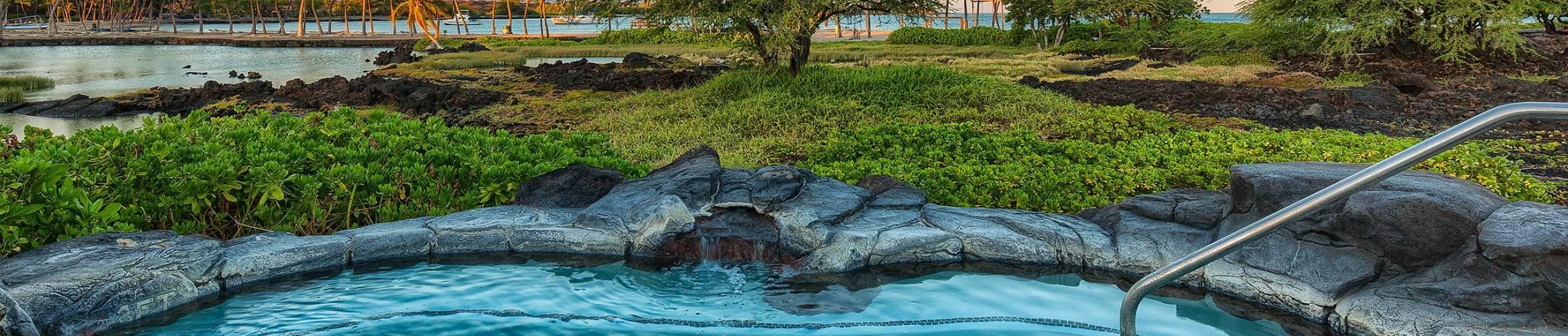 Kolea at Waikoloa Amenity Center Hot Tub