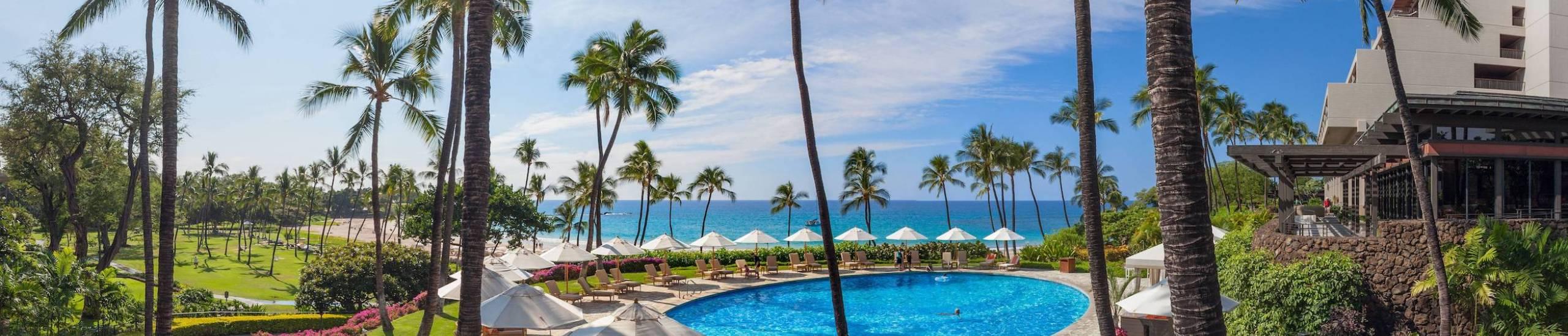 Hapuna Beach Pool - Mauna Kea