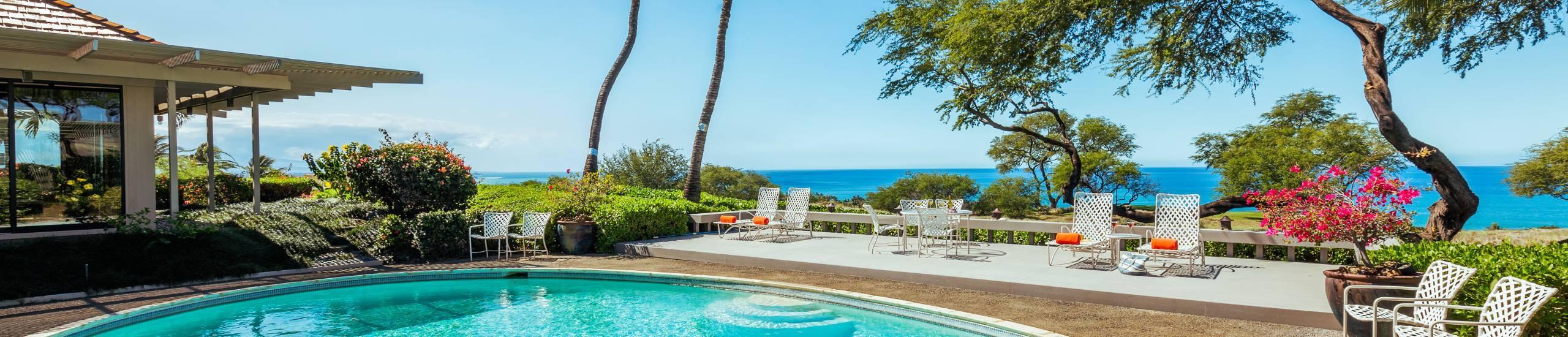 Mauna Kea Fairways 25 Private Pool View